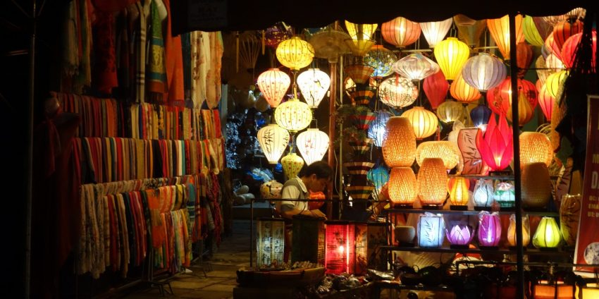 Festival des lanternes, full moon, plage, 2 belles journées à Hoi An !