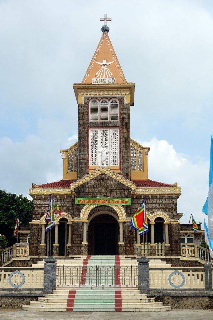 L'église de Lang Co, très jolie !