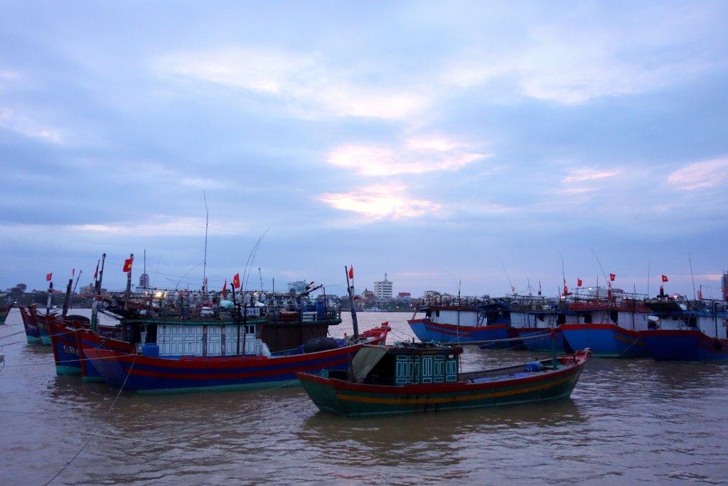 Sunset Dong Hoi