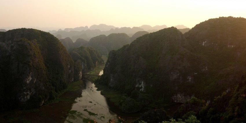 Ninh Binh ou la baie d'Ha Long terrestre.