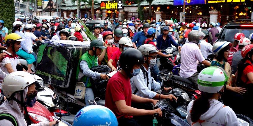 Ho Chi Minh, c'est de la folie !