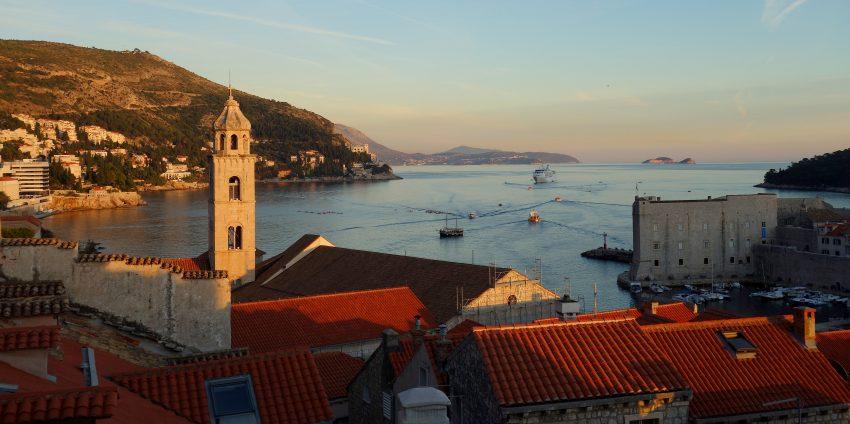 La belle Dubrovnik au coucher du soleil et visite de Split en Croatie !