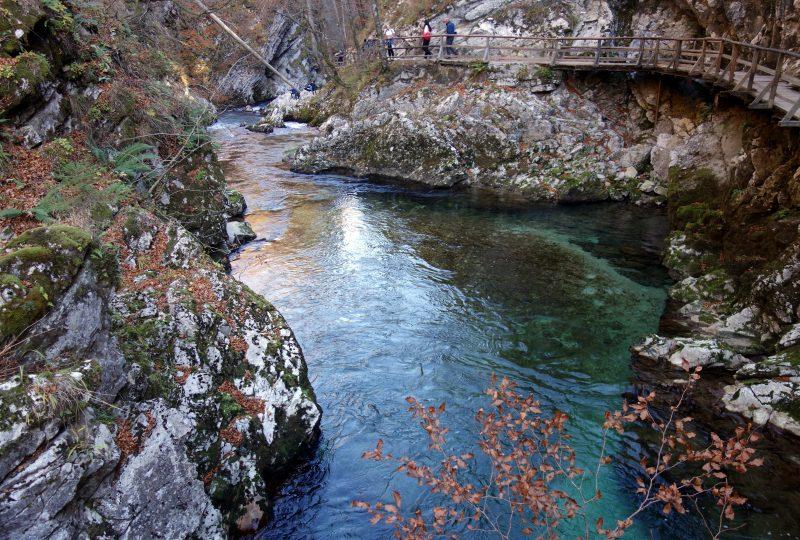 gorges vintsgar bled slovenie