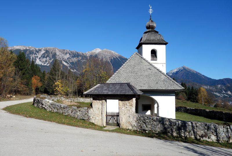 gorges vintsgar bled slovenie eglise sainte catherine