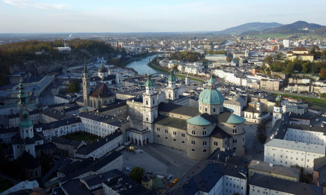 L'Autriche, visite de Salzbourg et redécouverte de Vienne