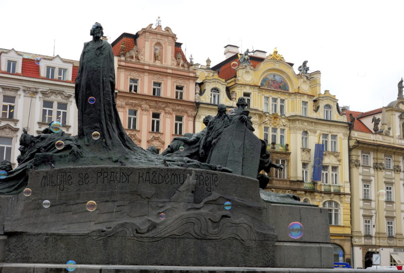 place principale prague république tchèque
