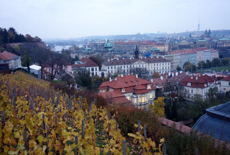 prague république tchèque vue chateau