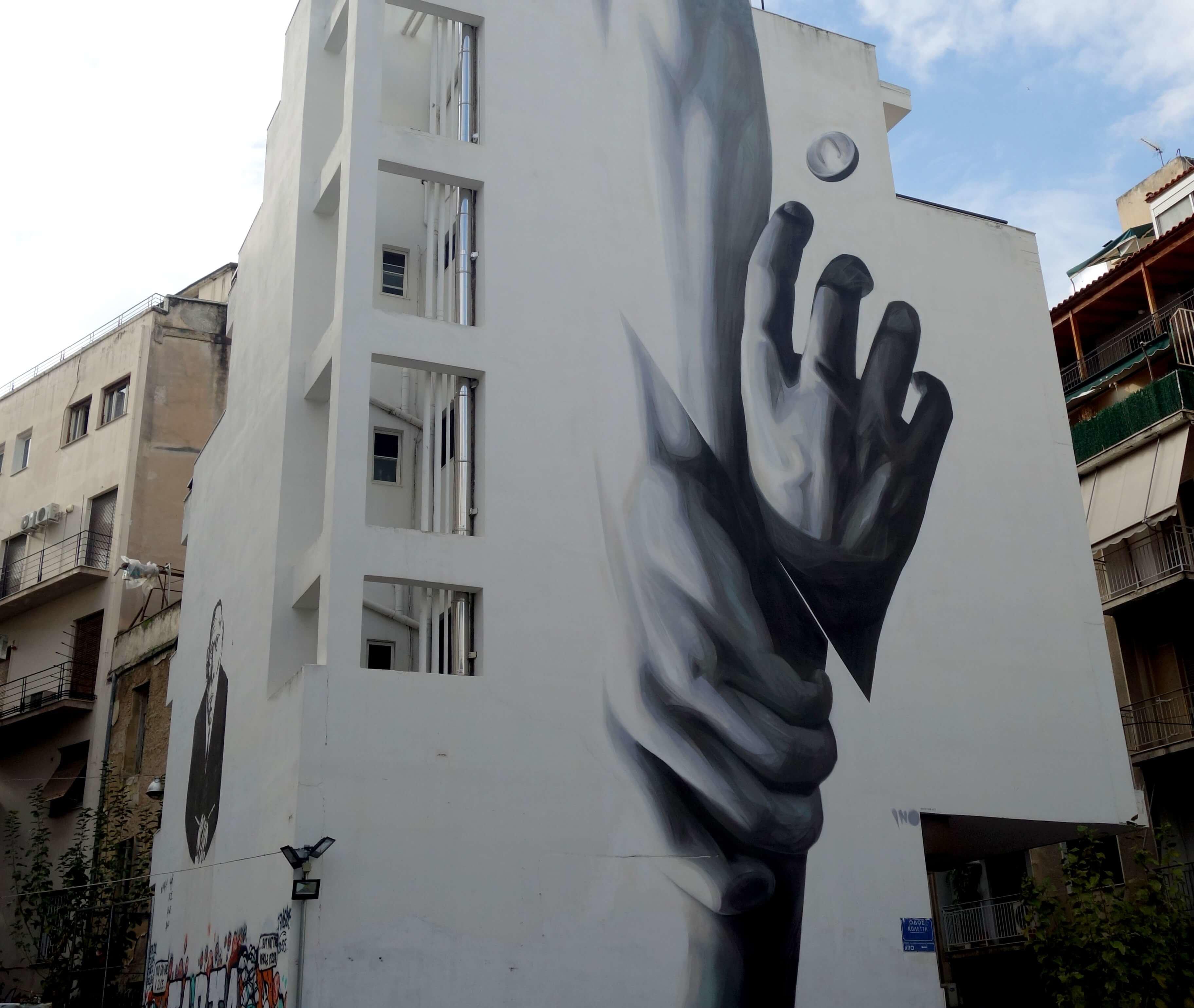 exarchia street art athenes
