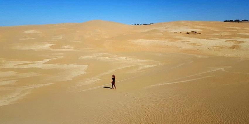 Arrêt plus long que prévu à Agadir et les dunes de Tifnit