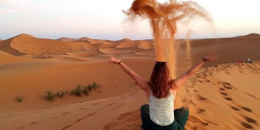 Le désert de Merzouga en Couchsurfing