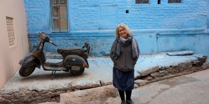 Le fort de Jodhpur, la ville bleue
