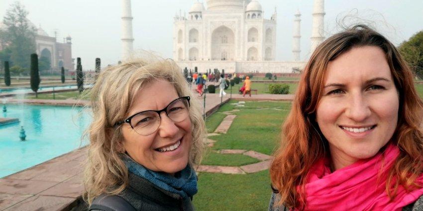 """Agra, le Taj Mahal mais pas que : """"My beauty is my smile"""""""