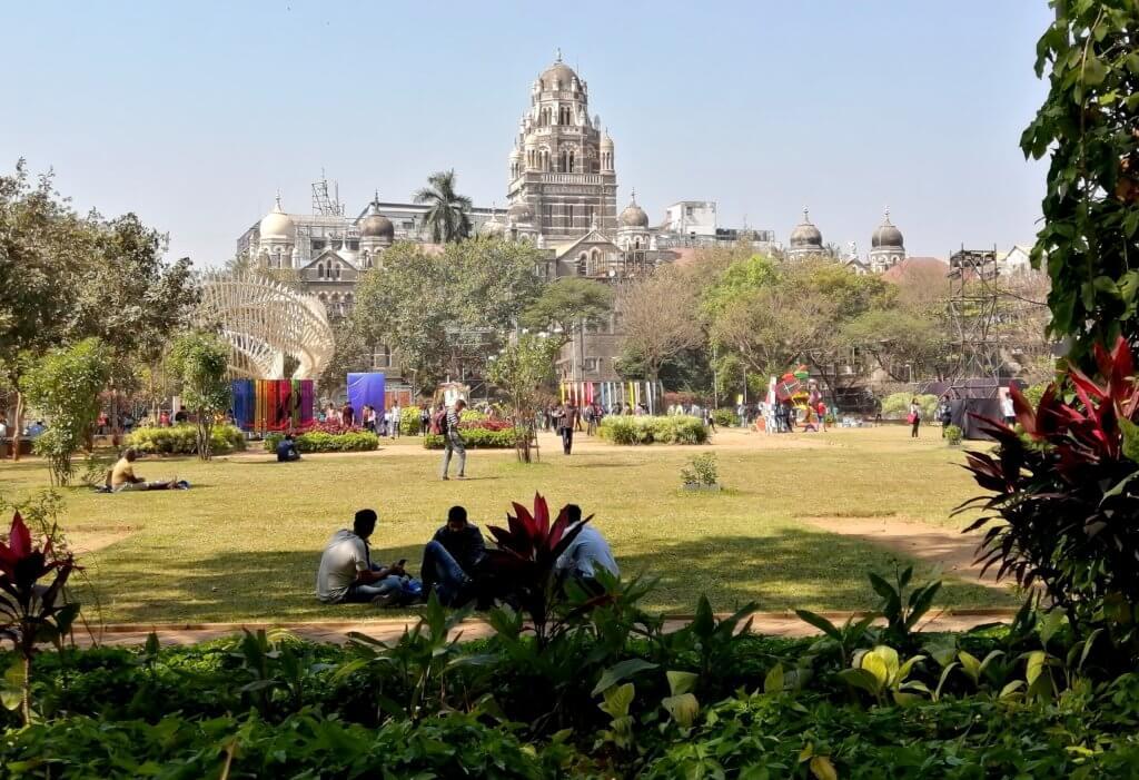 mumbai art expo parc inde blog voyage mere fille