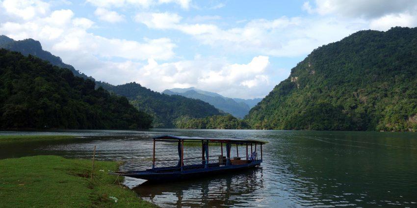 Nord Vietnam : Ba Bé lake !