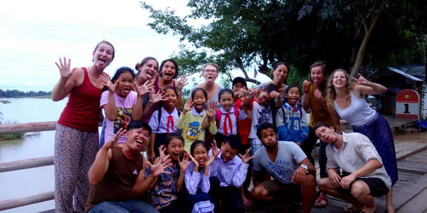 Don Khong, LaoSchool Volunteer !