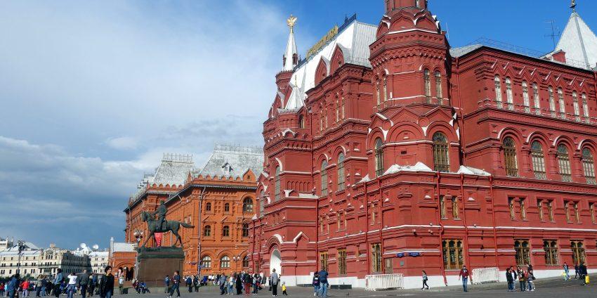 Retour en Europe, me voici à Moscou !