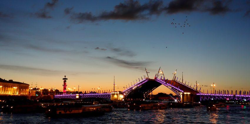 Saint Petersburg et the Scarlet Sails