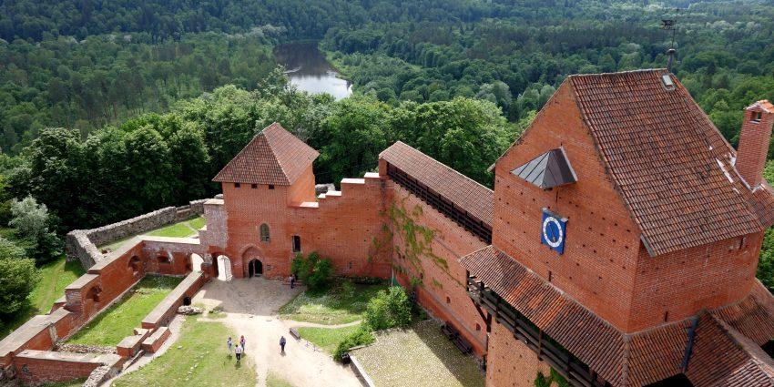Premier arrêt en Lettonie, le parc national de Sigulda !