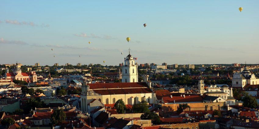 Enfin en Lituanie ! On commence à Vilnius, la capitale !