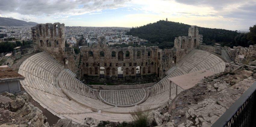 Athènes en Décembre, un plein de soleil et d'énergie !
